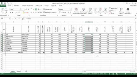 De La Planilla De Sueldos En Excel Que Incorpora Estos Cambios | planilla de sueldos en excel youtube