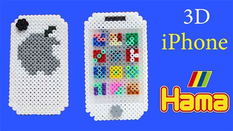 home design 3d iphone tutorial iphone 3d con hama beads diy perler beads iphone tutorial