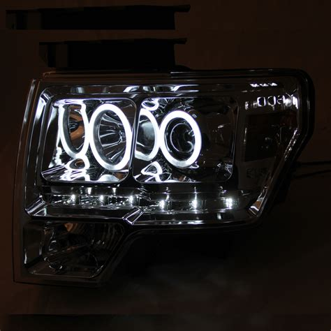 ford f150 halo lights 2009 2013 ford f 150 ccfl angel eye halo led strip