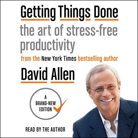 The Top 5 Things For A Stress Free by Getting Things Done Audiobook By David Allen Read
