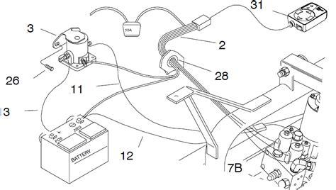 western plow headlight wiring diagram get free image
