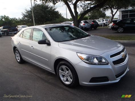 Black And Silver Ls by Chevrolet Malibu 2013 Rims Image 162