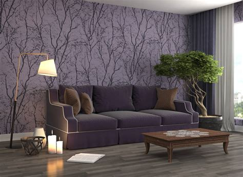 ideas  decorating  purple   modern sexy space