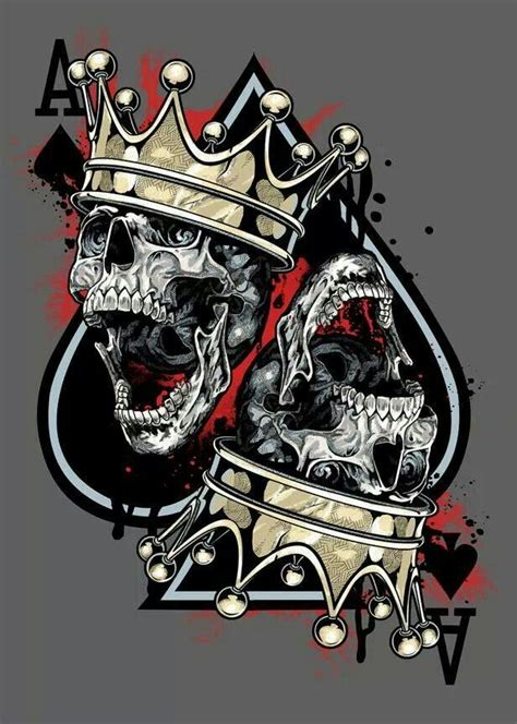 king of spades tattoo the world s catalog of ideas
