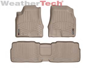 weathertech 174 floor mats floorliner for lexus rx 350 2007