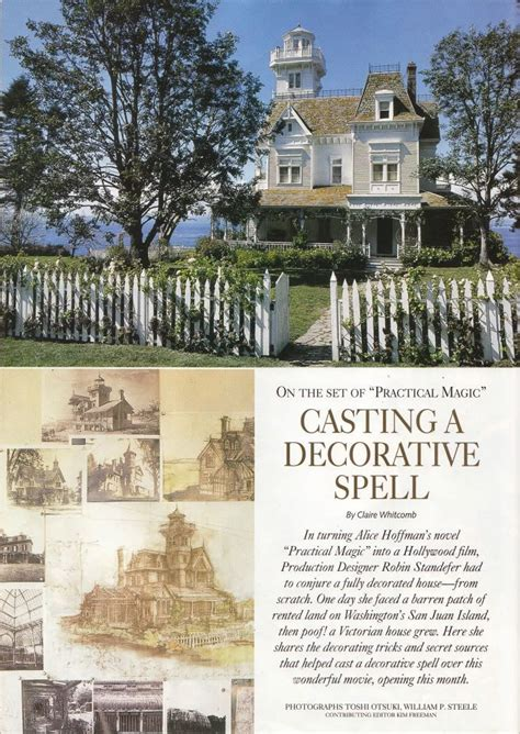 practical magic house practical magic the house the cast a spell inspiration rockabilly shabby chic