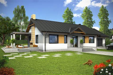 Z St projekt domu piotr ii z garażem 1 st a tuv 359 85 0m 178