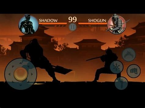 Lu Stop Shogun Asli shadow fight 2 titan vs shogun