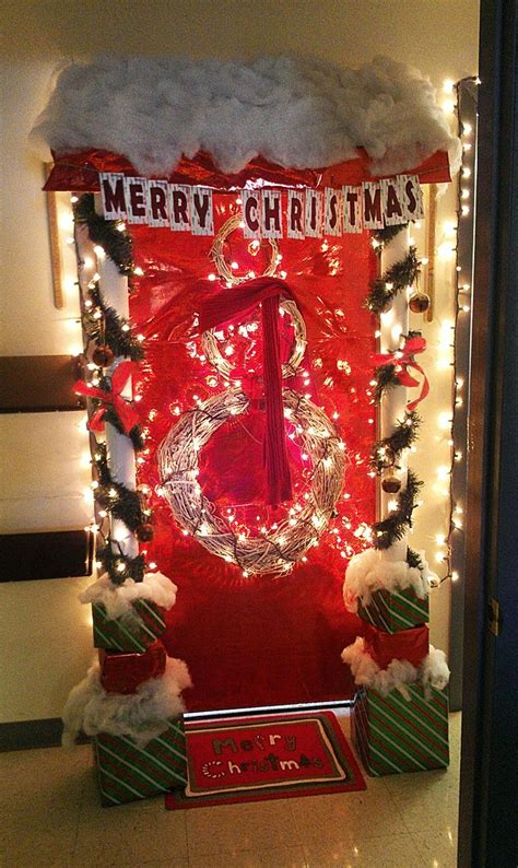 christmas office door contest idea 67 best images about office door contest on ribbon week decorating ideas and dr