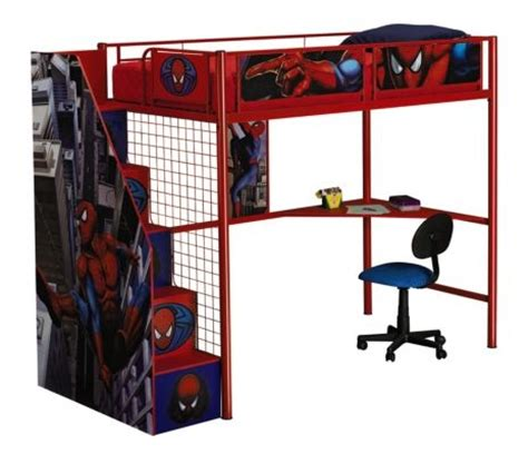 spiderman stair loft bed 499 99 loft beds pinterest