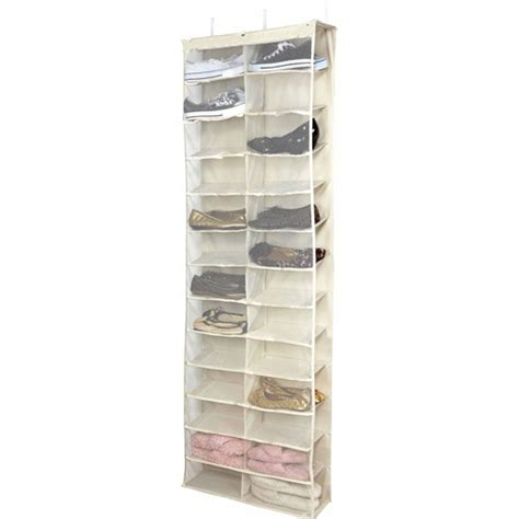 Walmart Shoe Racks by Simplify 26 Shelf The Door Shoe Rack Walmart