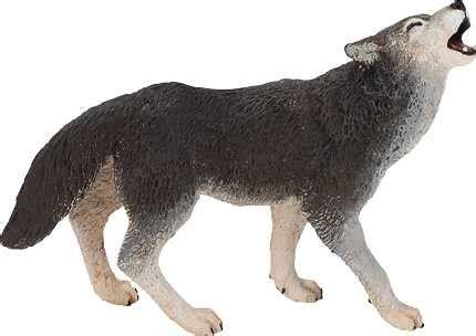 wolf toy miniature replica  animal world  anwocom
