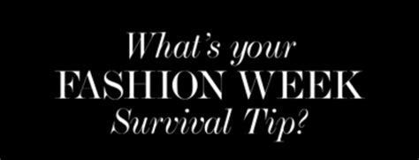 The Fashion Week Survival Guide by Fashion Week Survival Guide