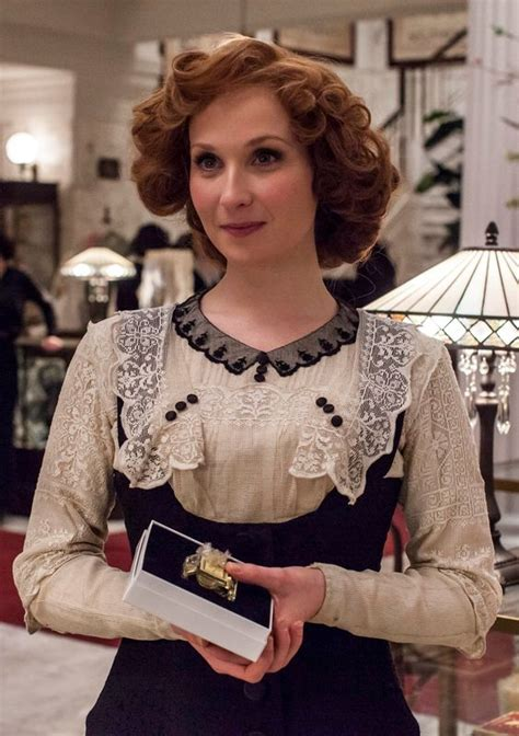 hairstyles and clothes from mr selfridge kitty hawkins amy beth hayes in mr selfridge season 2