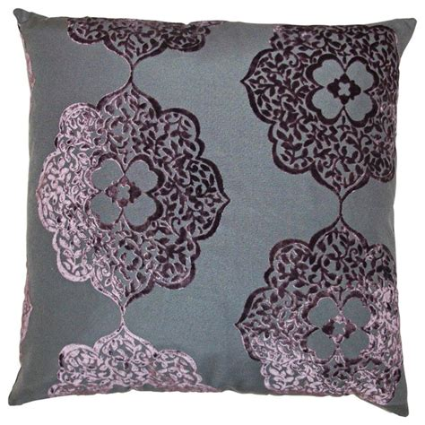 Plum Colored Throw Pillows by Maison Plum 24 Quot Square Decorative Pillow Traditional