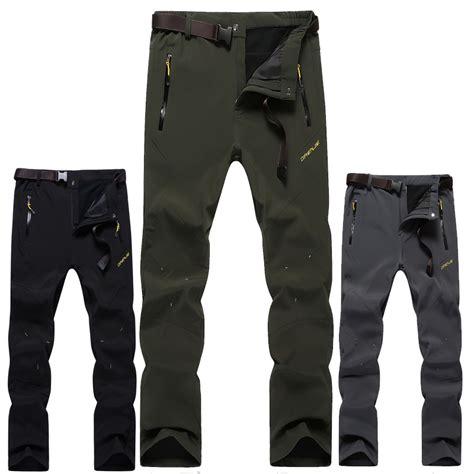 aliexpress beli 2015 baru celana soft shell fashion dan hangat bernapas celana mendaki