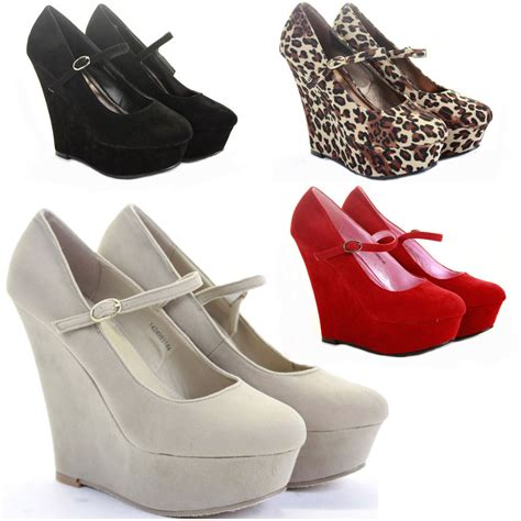 womens wedge shoes wedges high heels platform smart pumps