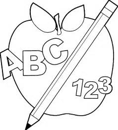 september coloring pages discover back to school apple images coloring page abc 123