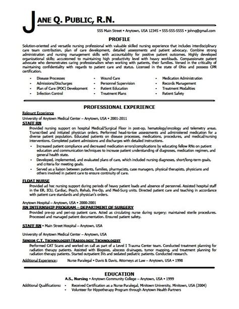 resume templates nursing best 25 nursing resume ideas on nursing