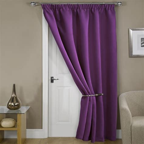 door curtains blackout door cutains rhf blackout door curtains panel 54w