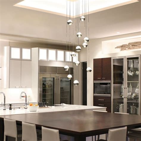 How To Design Kitchen Lighting How To Light A Kitchen Island Design Ideas Tips