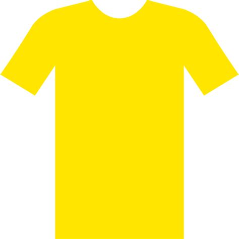 Tshirt Yellow yellow t shirt png clipart best