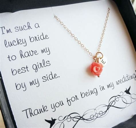 thank you for wedding gift sayings quotes for wedding bridesmaid quotesgram