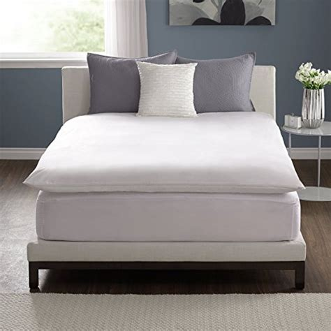 queen feather bed pacific coast 174 feather bed cover w zip closure queen feather bed not included 157