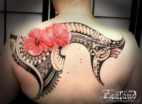 polynesian flower tattoo polynesian gallery zealand