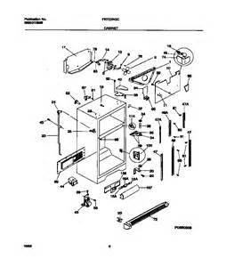 refrigerator parts frigidaire refrigerator parts diagram