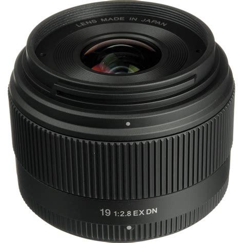 Lensa Sigma Wide Angle 19mm F2 8 sigma 19mm f 2 8 ex dn lens for olympus panasonic micro