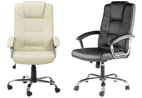 Office Chairs Houston Alphason Houston Leather Executive Office Chair