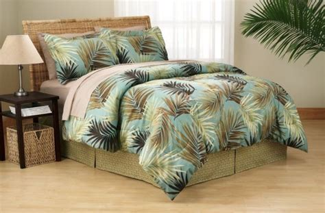 Tropical King Size Bedroom Sets by 8pc Palm Tree Bedding 100 Polyester Comforter Sham