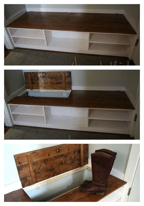 bench with shoe storage plans wood shoe storage bench plans woodworking projects plans