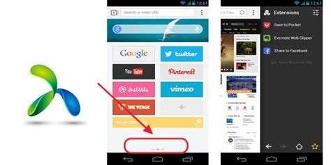 next browser for android tip usar next browser como flipboard android lo nuevo de hoy