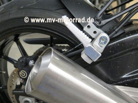 Bmw S1000rr Tieferlegen by Mv Fu 223 Rastentieferlegung Sozius Verstellbar S1000r Rr