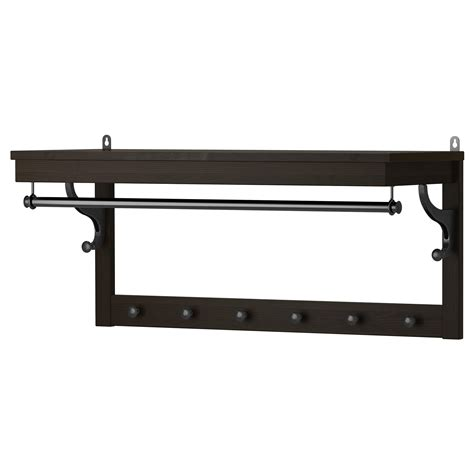 luggage rack ikea hemnes hat rack black brown 85 cm ikea