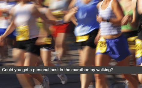 the marathon we live for a personal best in with type 1 diabetes books could you get a personal best in the marathon by walking