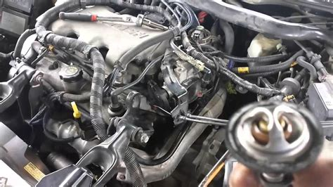 2001 impala thermostat replacement YouTube