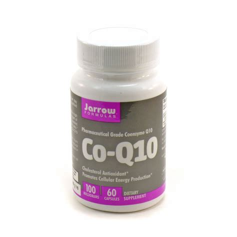 Suplemen Cor Q co q10 100 mg by jarrow 60 capsules