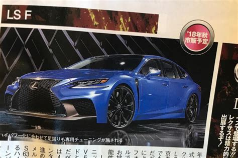 Bring Ls by Will Lexus Bring An Ls F To The Tokyo Motor Show