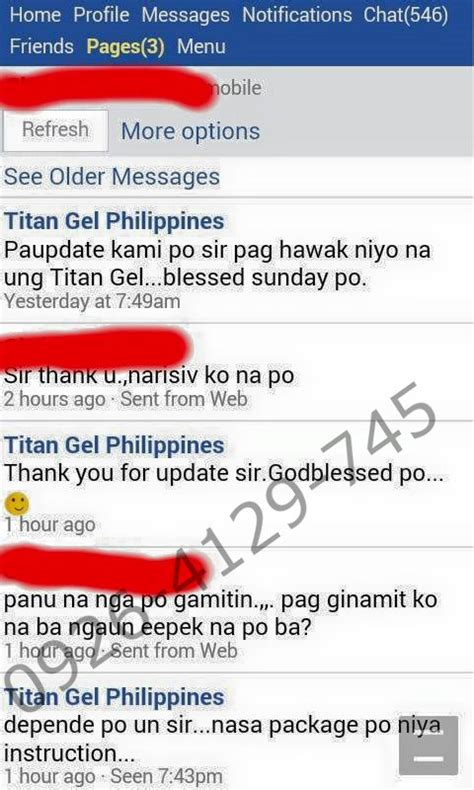 titan gel philippines list of our buyers transactions