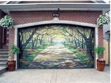 11 Of The Most Awesome Garage Door Murals In The World A 1 Overhead Door