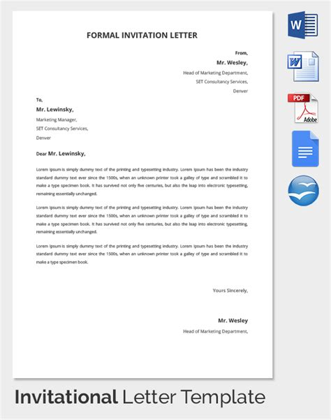 docs letter template hr invitation letter template 26 free word pdf