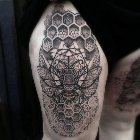 honeycomb tattoo designs 17 best ideas about honeycomb on bee