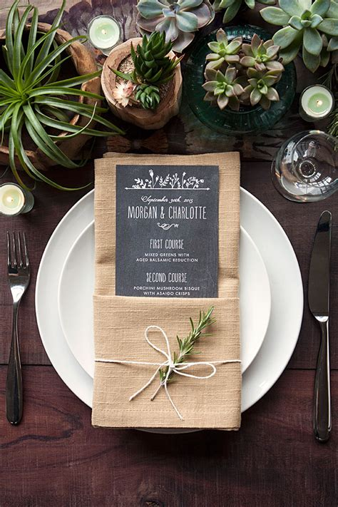 How To Fold Paper Napkins For A Wedding - ways to fold a napkin rustic wedding chic