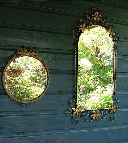 Mirror Mirror On The Garden Wall Pith Vigor Garden Wall Mirrors