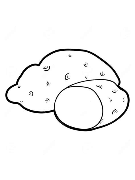 Potato Coloring Pages Download And Print Potato Coloring Potato Coloring Page