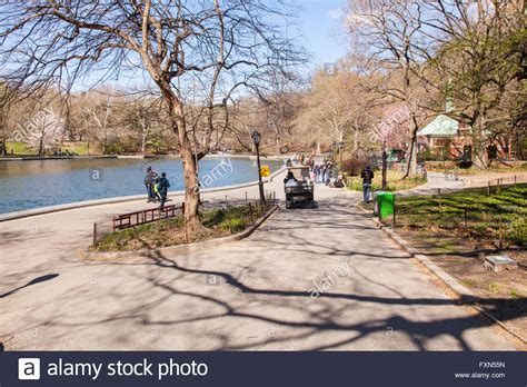 central park toy boat pond conservatory water model boat pond stock photos