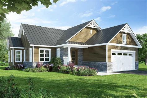 contemporary 3 bed country ranch home plan 22494dr